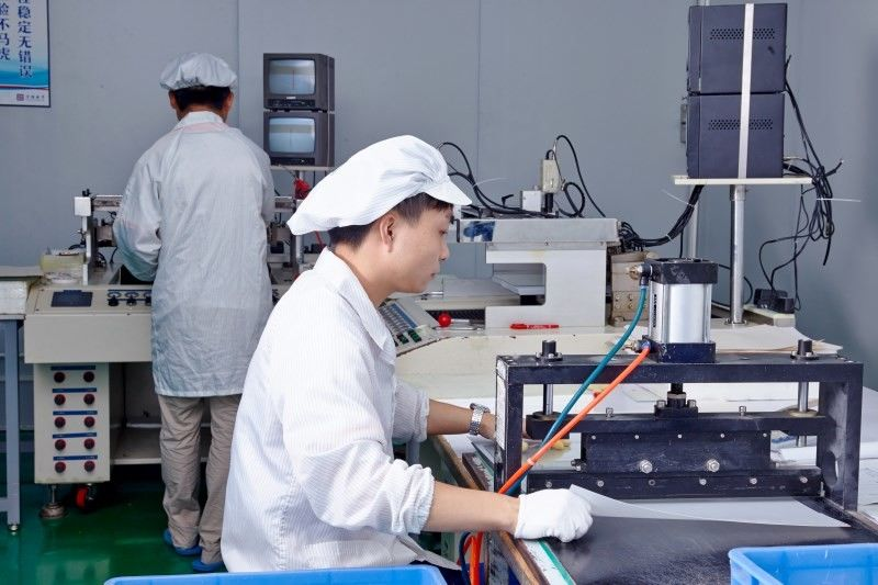 HongKong Guanke Industrial Limited dây chuyền sản xuất