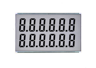 TN Lcd Display Custom Digit Lcd 7 Segment Display Transparent Lcd Screen Monochrome Lcd Panel For Fuel  Dashboard